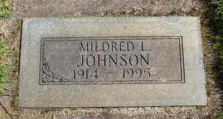 JOHNSON, MILDRED L - Marion County, Oregon | MILDRED L JOHNSON - Oregon Gravestone Photos