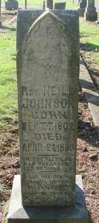 JOHNSON, NEILL - Marion County, Oregon | NEILL JOHNSON - Oregon Gravestone Photos