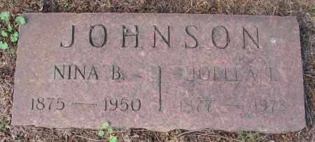 JOHNSON, NINA B - Marion County, Oregon | NINA B JOHNSON - Oregon Gravestone Photos
