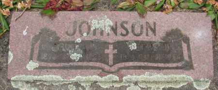 JOHNSON, NETTIE - Marion County, Oregon | NETTIE JOHNSON - Oregon Gravestone Photos