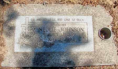 JOHNSON, NELLIE - Marion County, Oregon | NELLIE JOHNSON - Oregon Gravestone Photos
