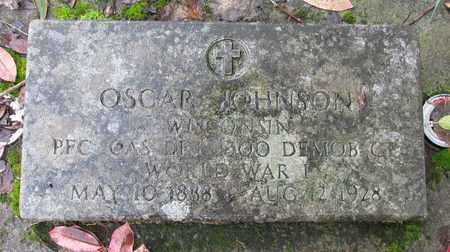 JOHNSON, OSCAR - Marion County, Oregon | OSCAR JOHNSON - Oregon Gravestone Photos
