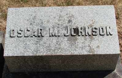 JOHNSON, OSCAR M - Marion County, Oregon | OSCAR M JOHNSON - Oregon Gravestone Photos