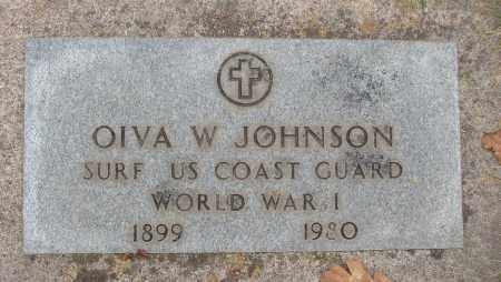 JOHNSON, OIVA W - Marion County, Oregon | OIVA W JOHNSON - Oregon Gravestone Photos