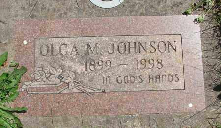 JOHNSON, OLGA MARIE - Marion County, Oregon | OLGA MARIE JOHNSON - Oregon Gravestone Photos