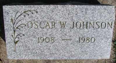 JOHNSON, OSCAR W - Marion County, Oregon | OSCAR W JOHNSON - Oregon Gravestone Photos