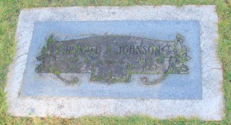 JOHNSON, RONALD A - Marion County, Oregon   RONALD A JOHNSON - Oregon Gravestone Photos