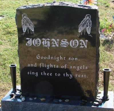 JOHNSON, RYAN GENE - Marion County, Oregon | RYAN GENE JOHNSON - Oregon Gravestone Photos