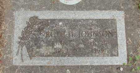 JOHNSON, RUTH H - Marion County, Oregon | RUTH H JOHNSON - Oregon Gravestone Photos
