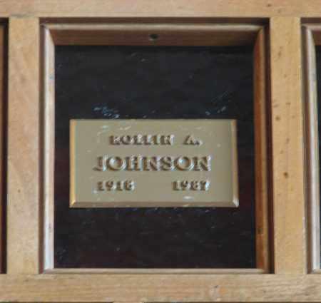 JOHNSON, ROLLIN ALBERT - Marion County, Oregon | ROLLIN ALBERT JOHNSON - Oregon Gravestone Photos
