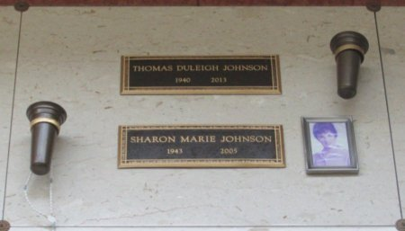 JOHNSON, THOMAS DULEIGH - Marion County, Oregon | THOMAS DULEIGH JOHNSON - Oregon Gravestone Photos