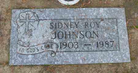 JOHNSON, SIDNEY ROY - Marion County, Oregon | SIDNEY ROY JOHNSON - Oregon Gravestone Photos