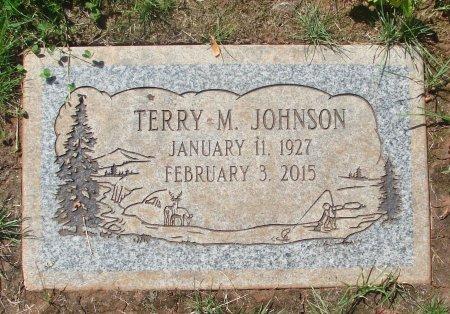 JOHNSON, TERRY M - Marion County, Oregon | TERRY M JOHNSON - Oregon Gravestone Photos