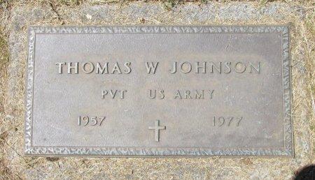 JOHNSON, THOMAS W - Marion County, Oregon | THOMAS W JOHNSON - Oregon Gravestone Photos