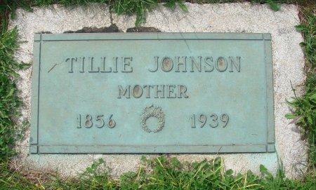 JOHNSON, TILLIE - Marion County, Oregon   TILLIE JOHNSON - Oregon Gravestone Photos