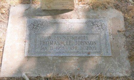 JOHNSON, THOMAS LEE - Marion County, Oregon | THOMAS LEE JOHNSON - Oregon Gravestone Photos
