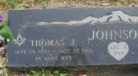 JOHNSON, THOMAS J - Marion County, Oregon | THOMAS J JOHNSON - Oregon Gravestone Photos