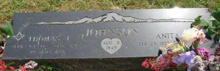 JOHNSON, ANITA J - Marion County, Oregon | ANITA J JOHNSON - Oregon Gravestone Photos