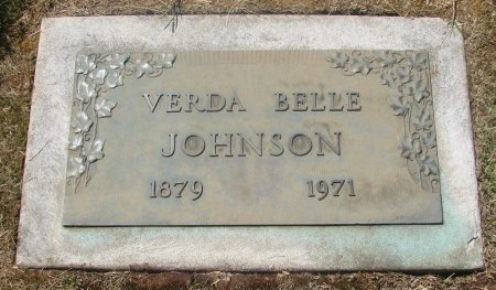 JOHNSON, VERDE BELLE - Marion County, Oregon | VERDE BELLE JOHNSON - Oregon Gravestone Photos