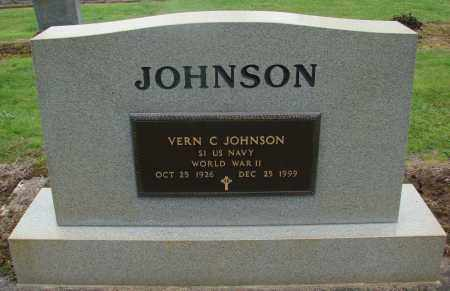 JOHNSON, VERN C - Marion County, Oregon | VERN C JOHNSON - Oregon Gravestone Photos