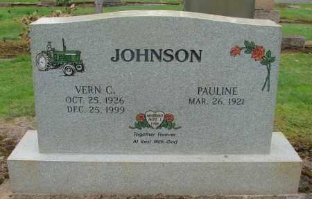 JOHNSON, PAULINE - Marion County, Oregon | PAULINE JOHNSON - Oregon Gravestone Photos