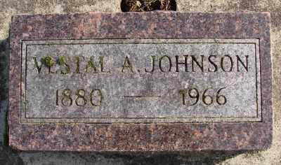 JOHNSON, VESTAL A - Marion County, Oregon | VESTAL A JOHNSON - Oregon Gravestone Photos