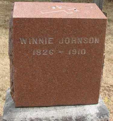 JOHNSON, WINNIE - Marion County, Oregon | WINNIE JOHNSON - Oregon Gravestone Photos
