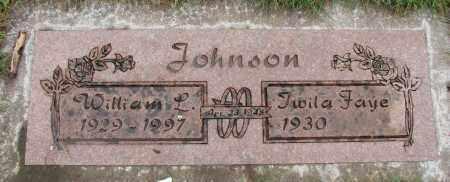 JOHNSON, WILLIAM L - Marion County, Oregon | WILLIAM L JOHNSON - Oregon Gravestone Photos