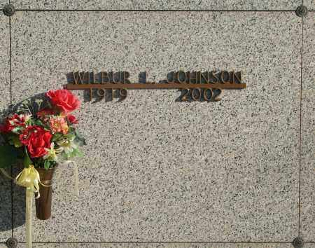JOHNSON, WILBUR LEMOINE - Marion County, Oregon | WILBUR LEMOINE JOHNSON - Oregon Gravestone Photos