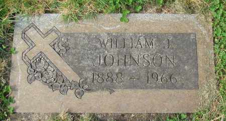 JOHNSON, WILLIAM J - Marion County, Oregon | WILLIAM J JOHNSON - Oregon Gravestone Photos
