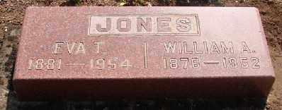 JONES, EVA TEMPERANCE - Marion County, Oregon | EVA TEMPERANCE JONES - Oregon Gravestone Photos