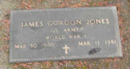 JONES (WWI), JAMES GORDON - Marion County, Oregon   JAMES GORDON JONES (WWI) - Oregon Gravestone Photos