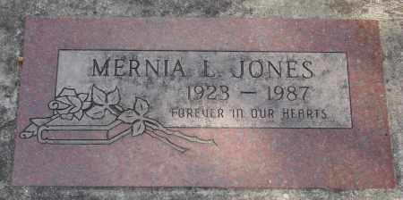 JONES, MERNIA L - Marion County, Oregon | MERNIA L JONES - Oregon Gravestone Photos