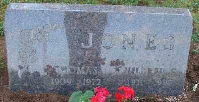 JONES, MILDRED CHRISTINE - Marion County, Oregon | MILDRED CHRISTINE JONES - Oregon Gravestone Photos