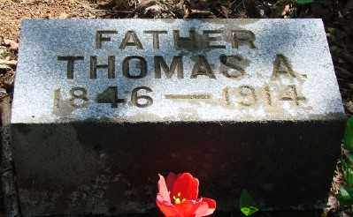 JONES, THOMAS ALEXANDER - Marion County, Oregon | THOMAS ALEXANDER JONES - Oregon Gravestone Photos