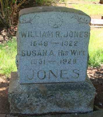 COOLEY JONES, SUSAN A - Marion County, Oregon | SUSAN A COOLEY JONES - Oregon Gravestone Photos