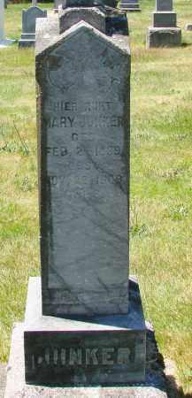 JUNKER, MARY - Marion County, Oregon   MARY JUNKER - Oregon Gravestone Photos