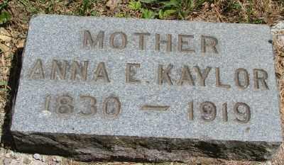 ADAMS KAYLOR, ANNA ELIZABETH - Marion County, Oregon   ANNA ELIZABETH ADAMS KAYLOR - Oregon Gravestone Photos