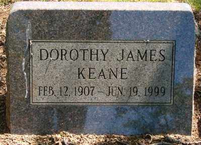 JAMES KEANE, DOROTHY - Marion County, Oregon | DOROTHY JAMES KEANE - Oregon Gravestone Photos