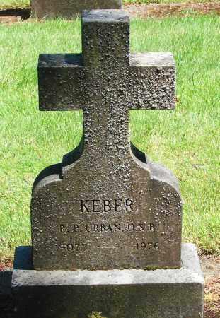 KEBER, URBAN - Marion County, Oregon | URBAN KEBER - Oregon Gravestone Photos