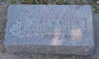KEEFER, ALICE M - Marion County, Oregon | ALICE M KEEFER - Oregon Gravestone Photos