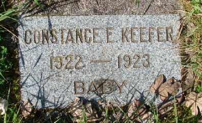 KEEFER, CONSTANCE E - Marion County, Oregon   CONSTANCE E KEEFER - Oregon Gravestone Photos