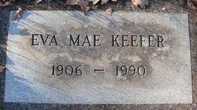 KEEFER, EVA MAE - Marion County, Oregon   EVA MAE KEEFER - Oregon Gravestone Photos