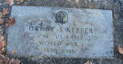 KEEFER, HARRY SIMPSON - Marion County, Oregon | HARRY SIMPSON KEEFER - Oregon Gravestone Photos