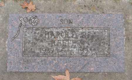 KEEFER, HAROLD R - Marion County, Oregon   HAROLD R KEEFER - Oregon Gravestone Photos