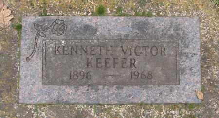 KEEFER, KENNETH VICTOR - Marion County, Oregon   KENNETH VICTOR KEEFER - Oregon Gravestone Photos