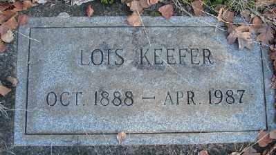 KEEFER, LOIS - Marion County, Oregon   LOIS KEEFER - Oregon Gravestone Photos
