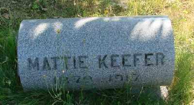 KEEFER, MARTHA - Marion County, Oregon | MARTHA KEEFER - Oregon Gravestone Photos