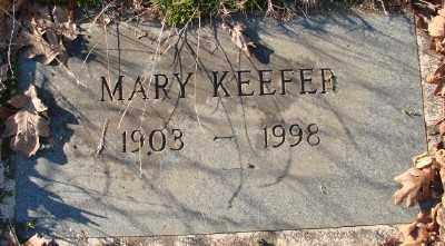 KEEFER, MARY - Marion County, Oregon | MARY KEEFER - Oregon Gravestone Photos