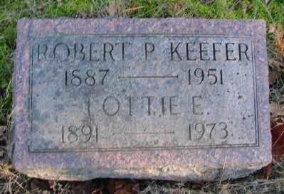 KEEFER, LOTTIE ELIZABETH - Marion County, Oregon | LOTTIE ELIZABETH KEEFER - Oregon Gravestone Photos
